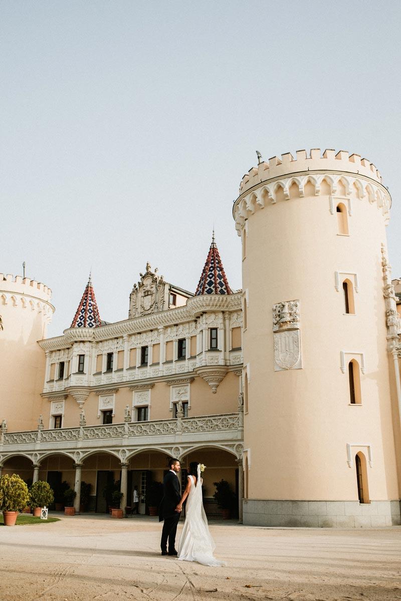 boda en un castillo