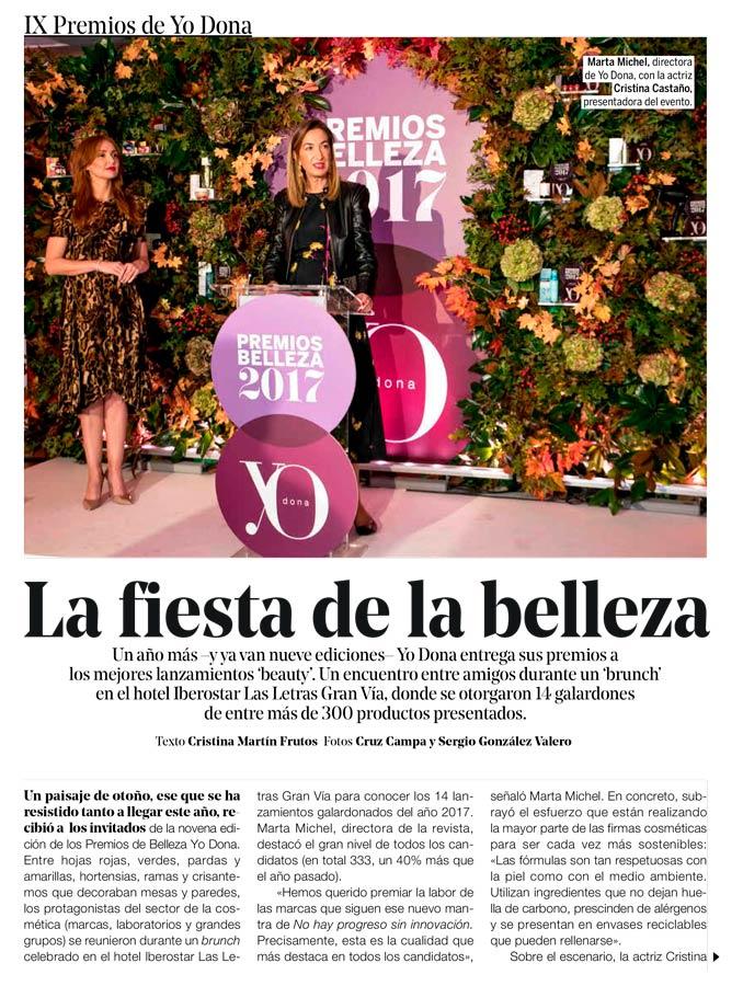 Reportaje premios Yo Dona